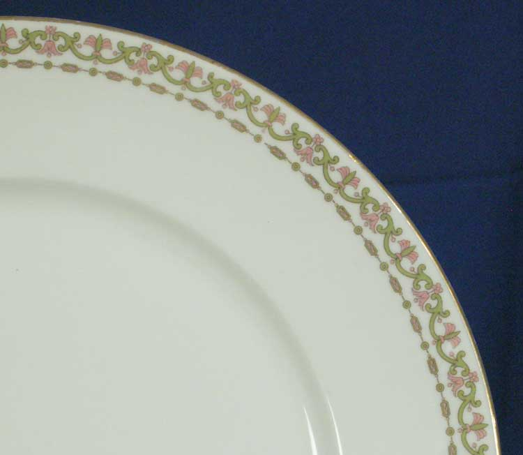 Limoges France  City new picture : Charles Ahrenfeldt Limoges France AHR350 Pattern White 12 inch Platter ...