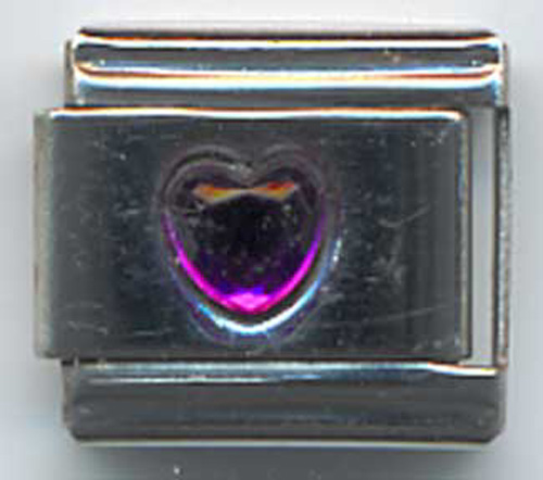 Heart Shaped Birthstone Feburary Amethyst